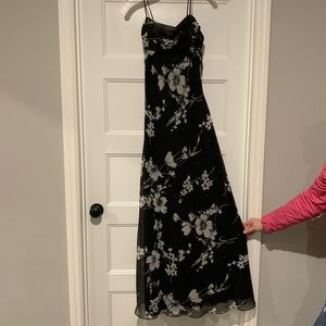 Floral Floor Length Dress